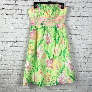 Lilly Pulitzer Sz 10 Strapless Dress